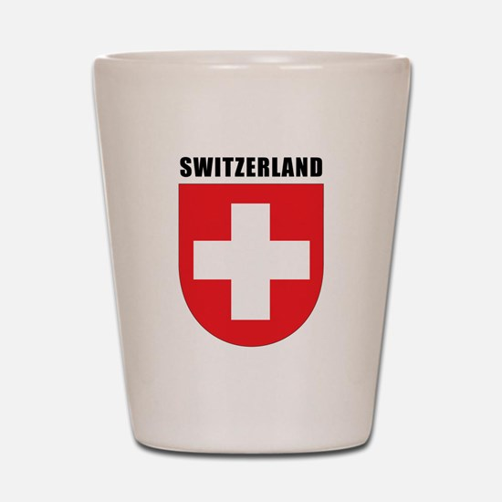 Switzerland Shot Glass