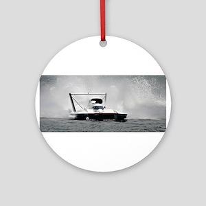 hydroplane Ornament (Round)