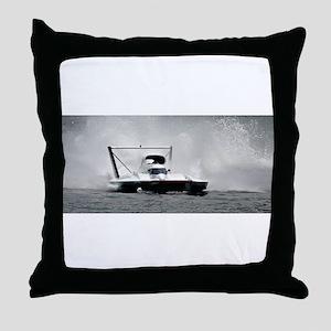 hydroplane Throw Pillow