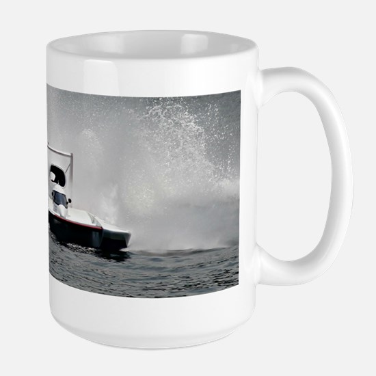 hydroplane Large Mug