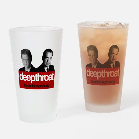 Political Deepthroat Drinking Glass