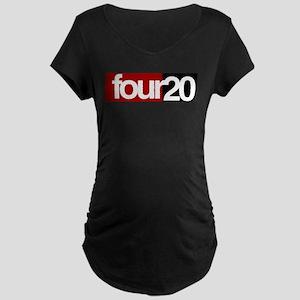 four20 Maternity Dark T-Shirt