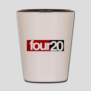 four20 Shot Glass