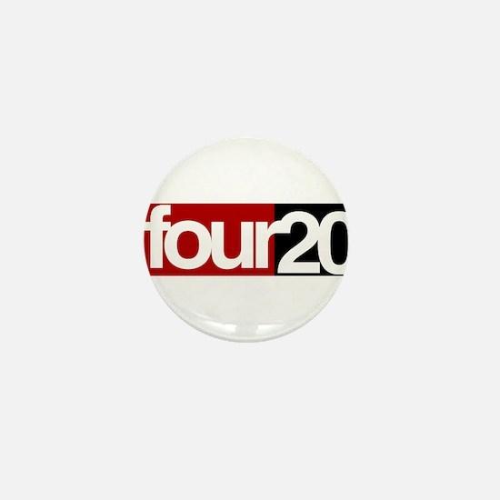 four20 Mini Button