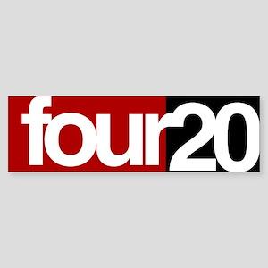 four20 Sticker (Bumper)