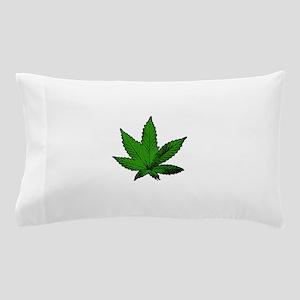 Hemp Leaf Pillow Case