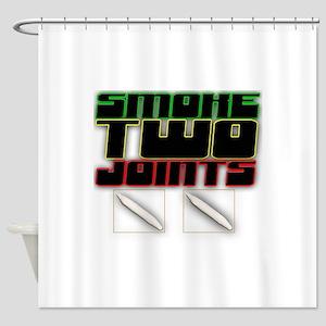 Swoke Two Joints Shower Curtain