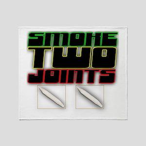 Swoke Two Joints Throw Blanket