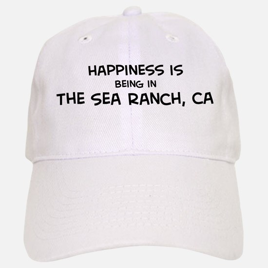 The Sea Ranch - Happiness Baseball Baseball Cap
