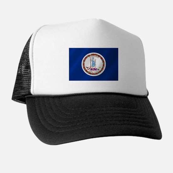 Virginia State Flag Trucker Hat