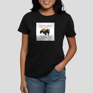 honey badger takes what she wants Women's Dark T-S
