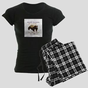 honey badger takes what she wants Women's Dark Paj