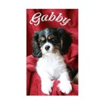 Gabby Rectangle Sticker