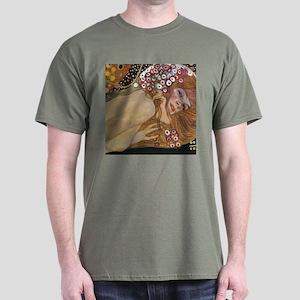 Gustav Klimt Water Serpents 2 (detail) Dark T-Shir