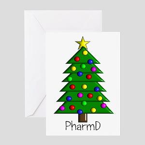 tree pharmD Greeting Card