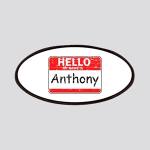 Hello My name is Anthony Patches