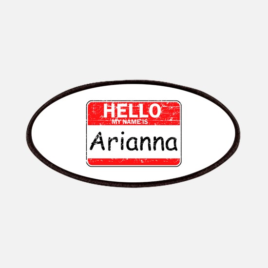 Hello My name is Arianna Patches