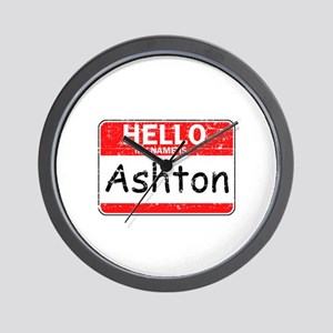 Hello My name is Ashton Wall Clock