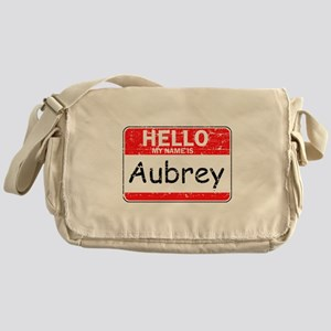 Hello My name is Aubrey Messenger Bag