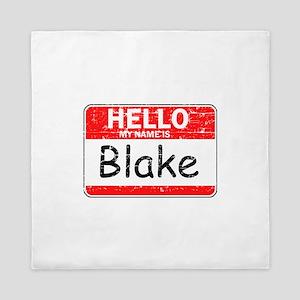 Hello My name is Blake Queen Duvet