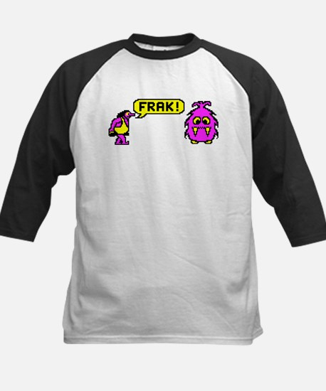 1984 Frak! Video Game Kids Baseball Jersey