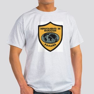 Panama Immigration Ash Grey T-Shirt