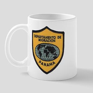 Panama Immigration Mug
