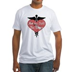Nurses Call The Shots Fitted T-Shirt