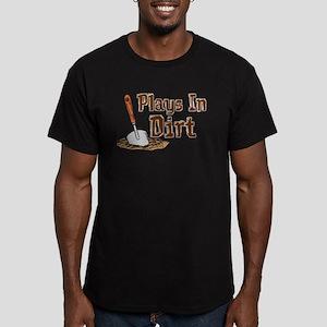 Plays In Dirt Garden Shirt Men's Fitted T-Shirt (d