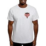 Nurses Call The Shots Light T-Shirt
