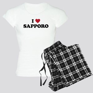 I Love Sapporo Women's Light Pajamas