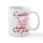 Caitlin On Fire Mug