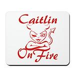 Caitlin On Fire Mousepad