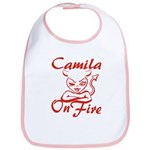 Camila On Fire Bib