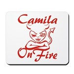 Camila On Fire Mousepad