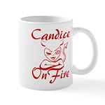 Candice On Fire Mug