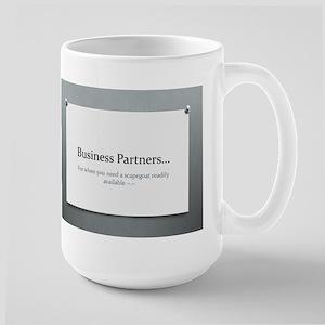 Business Partners Large Mug