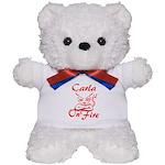 Carla On Fire Teddy Bear