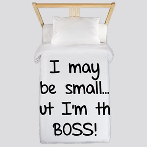 I may be small... but I'm the boss! Twin Duvet