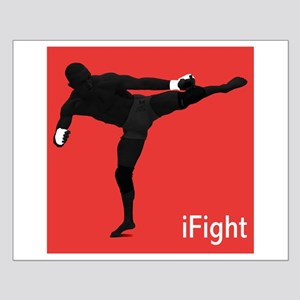 iFight (red) Small Poster