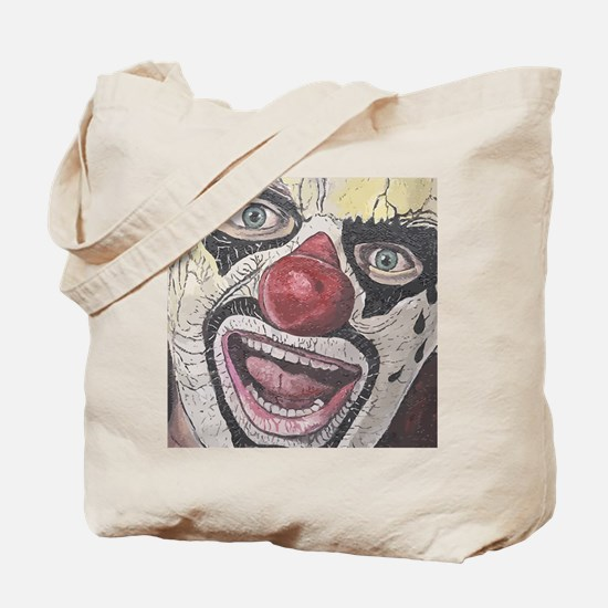 Gothic Clown Tote Bag