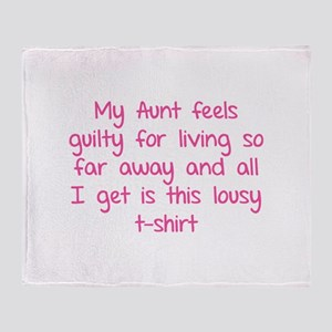 My aunt feels guilty for living so far away Stadi
