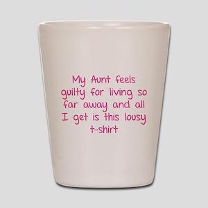 My aunt feels guilty for living so far away Shot G