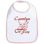 Carolyn On Fire Bib