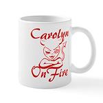 Carolyn On Fire Mug
