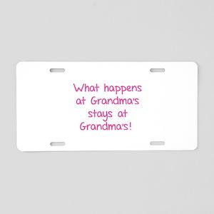 What happens at Grandma's stays at Grandma's! Alum