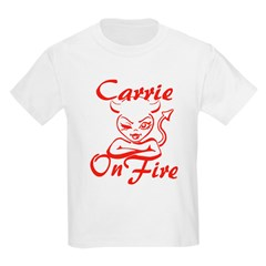 Carrie On Fire T-Shirt