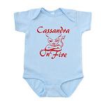 Cassandra On Fire Infant Bodysuit