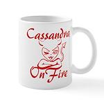 Cassandra On Fire Mug