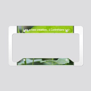 New Creation License Plate Holder